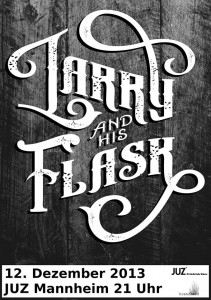 Konzert mit Larry and his Flask