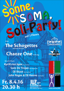 SOMA Soli-Party