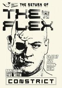The Flex / Constrict / tba im Juz Mannheim