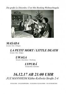Masada, La Petit Mort / Little Death, Uwaga & Lypurá
