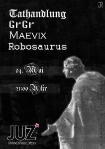 Ravepunk: Robosaurus, Tathandlung, GrGr & Maevix