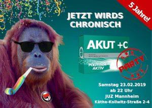 Akut+C – Geburtstagsparty