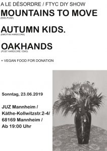 Oakhands, Mountains To Move, autumn kids.