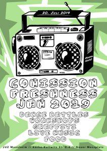 Comission Freshness Jam 2019